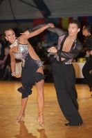 Daniel Juvet &amp; Zuzana Sykorova at Antwerp Stars Cup