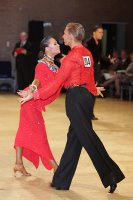 Neil Jones & Ekaterina Jones at UK Open 2011