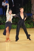 Neil Jones & Ekaterina Sokolova at UK Open 2012
