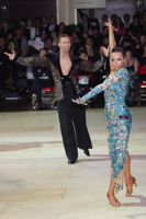 Neil Jones & Ekaterina Jones at Blackpool Dance Festival 2012