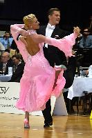 Domen Krapez & Monica Nigro at Austrian Open 2004