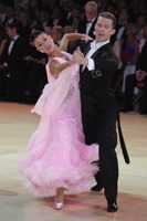 Domen Krapez & Monica Nigro at Blackpool Dance Festival 2012