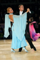 Domen Krapez & Monica Nigro at International Championships 2005