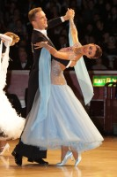 Domen Krapez & Monica Nigro at International Championships 2012