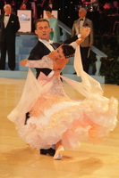 Domen Krapez & Monica Nigro at UK Open 2013
