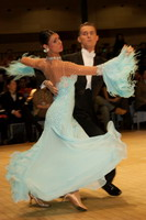 Domen Krapez &amp; Monica Nigro at UK Open 2006