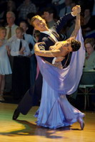 Domen Krapez & Monica Nigro at Dutch Open 2006