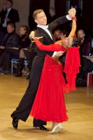 Domen Krapez & Monica Nigro at UK Open 2007