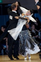 Domen Krapez & Monica Nigro at UK Open 2008