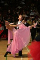 Domen Krapez & Monica Nigro at International Championships 2008