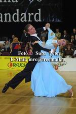 Domen Krapez & Monica Nigro at Austrian Open 2003