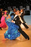 Domen Krapez & Monica Nigro at UK Open 2009