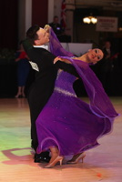 Michael Johnson & Sally Rose Beardall at Blackpool Dance Festival