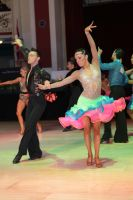 Michael Johnson &amp; Sally Rose Beardall at Blackpool Dance Festival