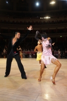 Anton Sboev & Patrizia Ranis at International Championships 2011