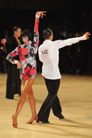 Anton Sboev & Patrizia Ranis at UK Open 2012