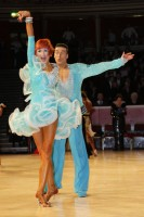 Anton Sboev & Patrizia Ranis at International Championships 2012