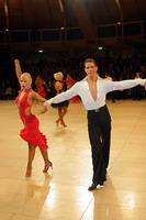 Jurij Batagelj & Jagoda Batagelj at UK Open 2005