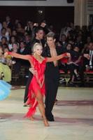 Jurij Batagelj & Jagoda Batagelj at Blackpool Dance Festival 2012