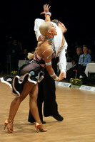 Jurij Batagelj &amp; Jagoda Batagelj at Czech Dance Open 2005