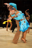 Jurij Batagelj & Jagoda Batagelj at International Championships 2005