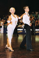 Jurij Batagelj & Jagoda Batagelj at 15th German Open 2001