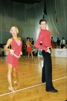 Jurij Batagelj & Jagoda Batagelj at Slovenian Open 2001