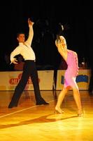 Jurij Batagelj & Jagoda Batagelj at Slovenian Open 2002