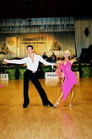 Jurij Batagelj &amp; Jagoda Batagelj at Savaria 2002