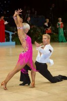 Jurij Batagelj & Jagoda Batagelj at UK Open 2008