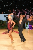 Jurij Batagelj & Jagoda Batagelj at UK Open 2009