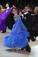 Alex Sindila & Katie Gleeson at Blackpool Dance Festival 2012