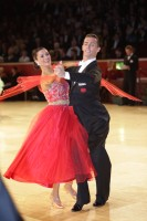 Alex Sindila & Katie Gleeson at International Championships 2012