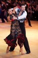 Andrei Mosejcuk & Kamila Kajak at Blackpool Dance Festival 2009