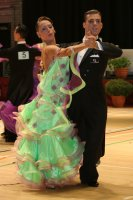 Isaia Berardi & Cinzia Birarelli at International Championships 2008
