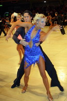 Andrew Cuerden & Hanna Haarala at UK Open 2005