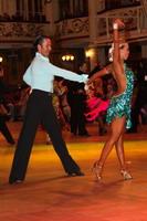 Andrew Cuerden & Hanna Haarala at Blackpool Dance Festival 2005