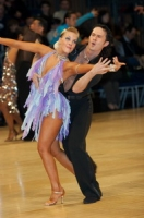Andrew Cuerden &amp; Hanna Haarala at UK Open 2006