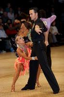 Andrew Cuerden & Hanna Haarala at UK Open 2006