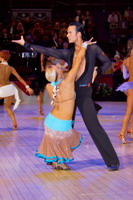 Andrew Cuerden & Hanna Haarala at The International Championships
