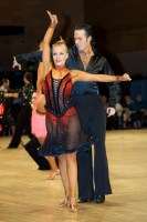 Andrew Cuerden & Hanna Haarala at UK Open 2008