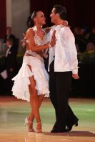 Massimo Arcolin & Lyubov Mushtuk at Blackpool Dance Festival