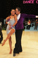 Massimo Arcolin & Lyubov Mushtuk at UK Open 2012