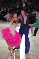 Massimo Arcolin & Lyubov Mushtuk at Blackpool Dance Festival 2012