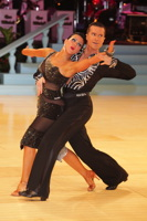 Andrej Skufca & Melinda Torokgyorgy at UK Open 2012