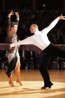 Andrej Skufca & Melinda Torokgyorgy at International Championships 2012