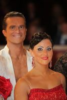 Andrej Skufca & Melinda Torokgyorgy at International Championships 2009