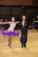 Sam Hunter & Charlotte Plant at UK Open 2012