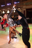 Francesco Bertini & Sabrina Manzi at Blackpool Dance Festival