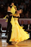 Victor Fung & Anastasia Muravyova at International Championships 2012